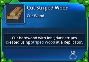 Cut-striped-wood