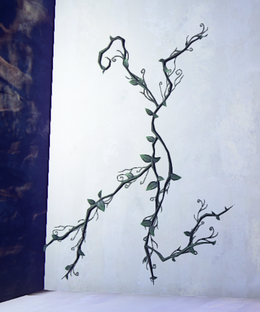 Simple Jungle Vines prop placed.