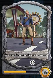 Wander round a round a round