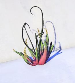 Jute Plant prop placed