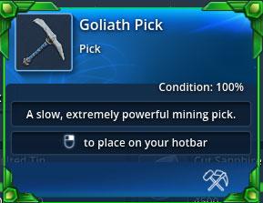 Goliath-pick