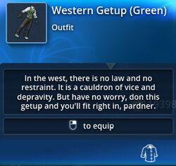 Western-getup-green-tt