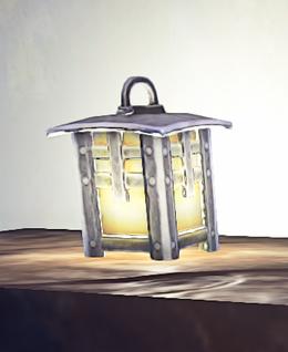 Landmark Small Lantern prop placed