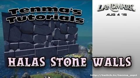 Halas Stone Wall - INT