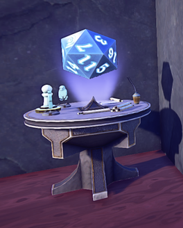 Game Table Closed Beta prop placed