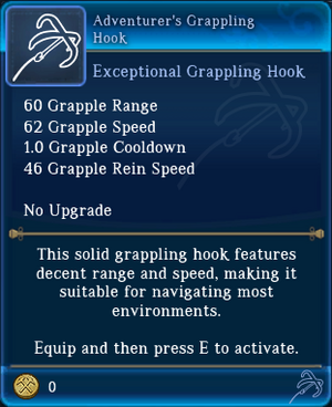 Adventurer's Grappling Hook