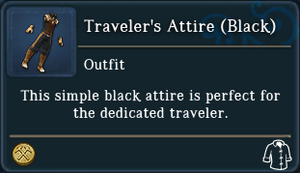Travelers Attire Black examine