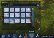 Materials-window-demo