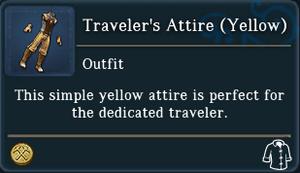 Travelers Attire Yellow examine