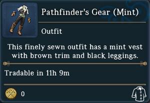 Pathfinders Gear Mint examine