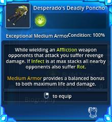 Desperado's Deadly Poncho - Info