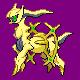 Arceus DP Shiny