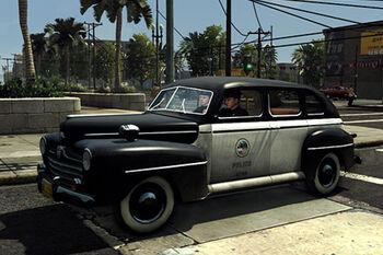 Dodge sedan L.A. Noire