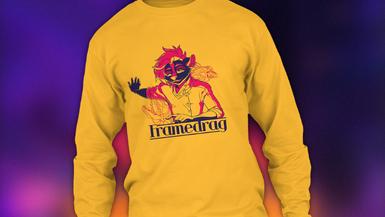 Darius newsletter shirt