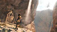 Lara At Mountain Ruin