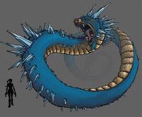 Relic Run Concept - Snake Monster