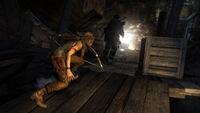 Tomb Raider Screenshot MountainClimb KingsHut Sneak