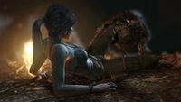 Tomb Raider Screenshot WolfAttack 02