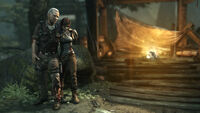 Tomb Raider Screenshot Wounded