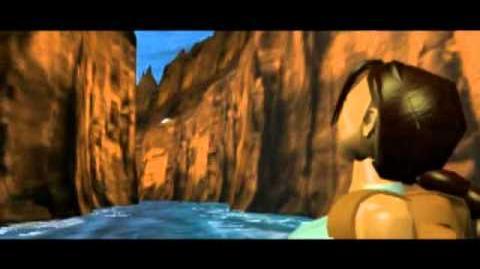 Tomb Raider (1996) Cutscene 07 - Canyon