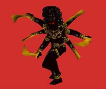 Shiva Statue Black