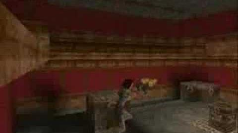 Tomb Raider 1 Tomb of Tihocan - Pierre & the centaurs