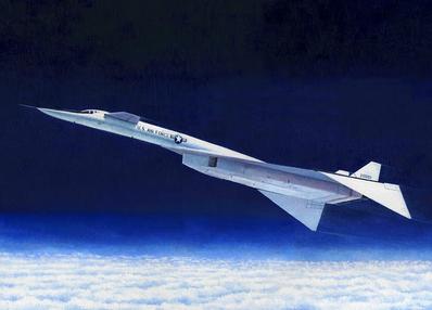 XB-70 at o