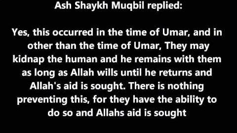 Shaykh Muqbil Can the Jinn kidnap Humans?-0
