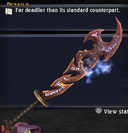 Superlative Demonblade