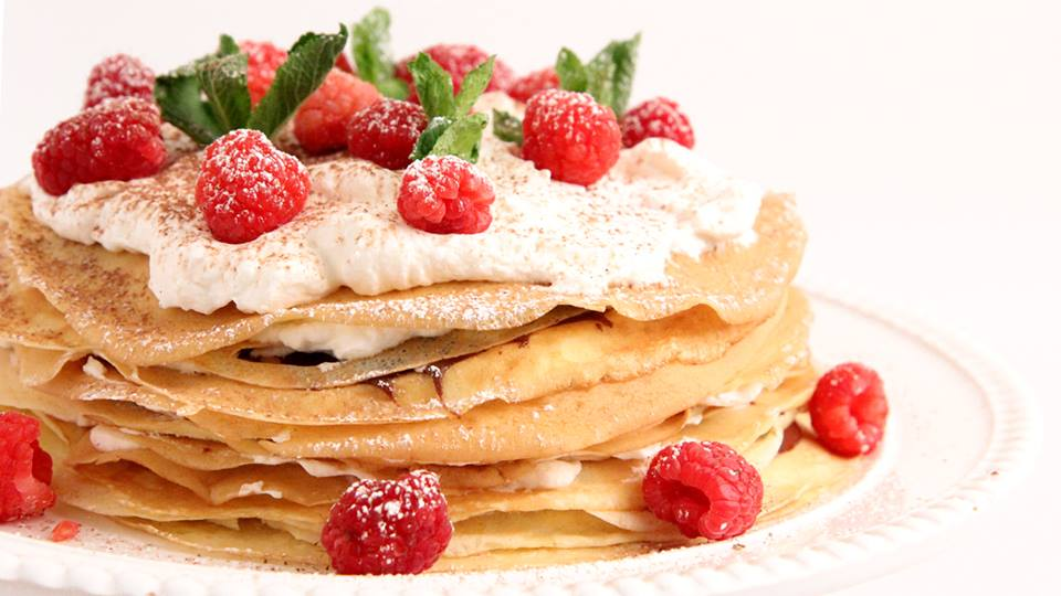 Nutella Crepe Cake   Laura in the kitchen Wiki   FANDOM powered by ...