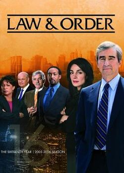 Law and Order S16 (DVD)