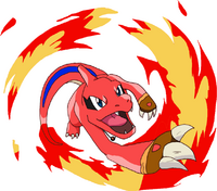 Charo as a Charmeleon
