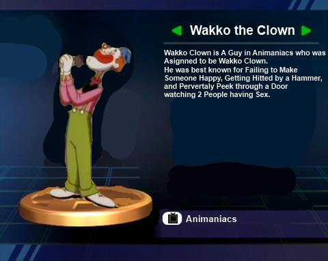 File:Wakko Clown Trophy.png
