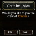 Crew Invite