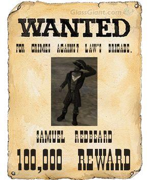 File:Samuel Redbeard's wanted poster.jpg