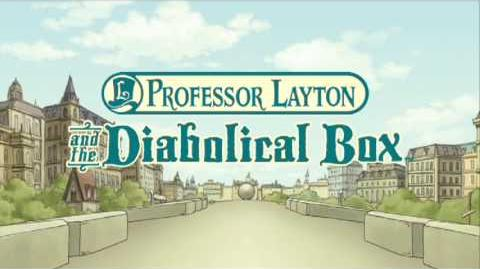 Professor Layton Diabolical Box - E3 2009 - DS