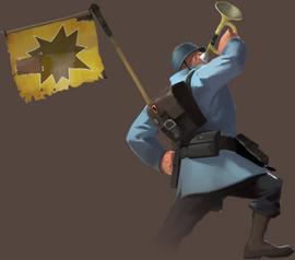 Buff banner