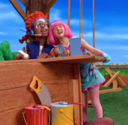 Nick Jr. LazyTown Pixel and Stephanie 5 - My Treehouse