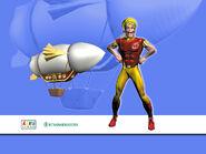 Nick Jr. LazyTown Sportacus CGI