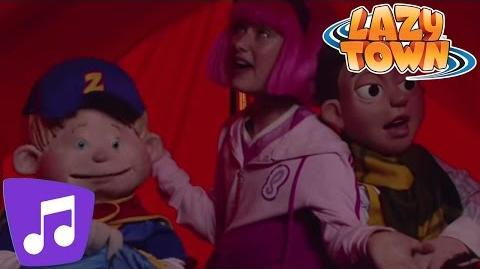 LazyTown The Spooky Song Music Video