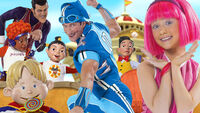 Nick Jr. LazyTown Characters