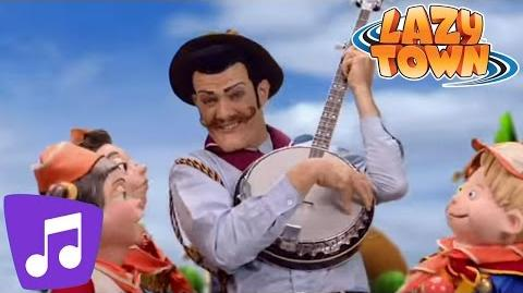 LazyTown Lazy Scouts Music Video