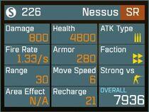 Nessus SR Lv1 Back