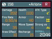Arion R Lv1 Back