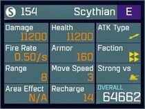 Scythian E Lv1 Back