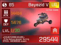 Bayezid V Card 1 30