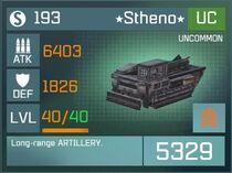 Stheno UC Lvl40 Front