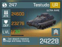 Testudo UR Lv1 Front