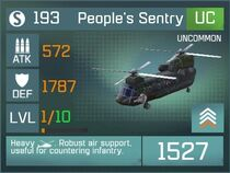 Peoples Sentry Lvl1 Front