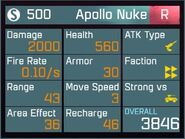 Apollo Nuke R Lv1 Back